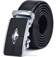 Fashion business leisure automatic buckle genuine leather mens belts