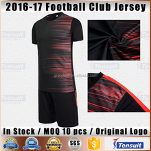 Cheap wholesale blank soccer jersey machine printing custom design your logo OEM football uniforms new model men T-shirt maker