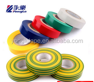 Electrical 19mm x 10m PVC Insulation/Insulating Tape Flame Retardant Environmental Friendly