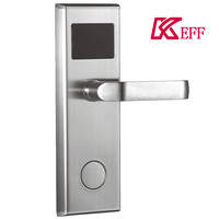 Best price of smart rf card hotel lock Hot Stainless Steel Single Open