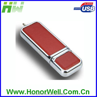 Leather USB Flash DRIVE USB 2.0 Driver Leather