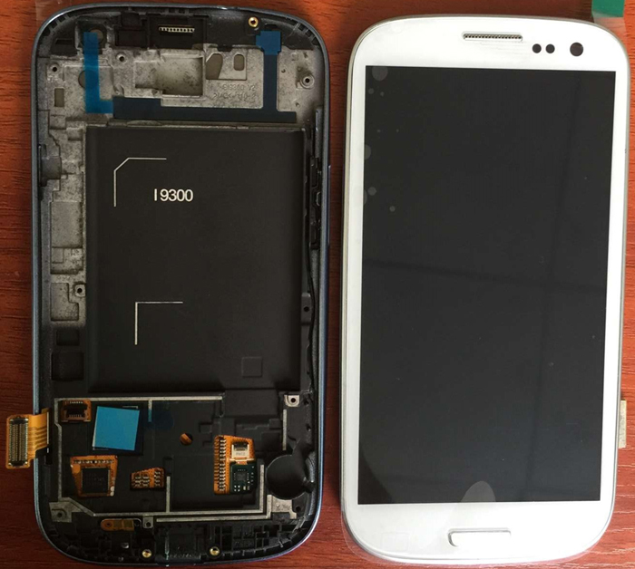 For Samsung i9300 Galaxy S3 I9300 Lcd Screen Galaxy s3 Lcd Assembly Original White Blue Black Lcd