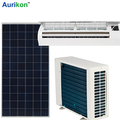 100% solar air conditioner energy saving 90%-95% solar panel for air conditioner