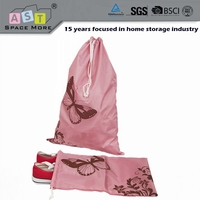 High standard new products drawstring linen storage bag