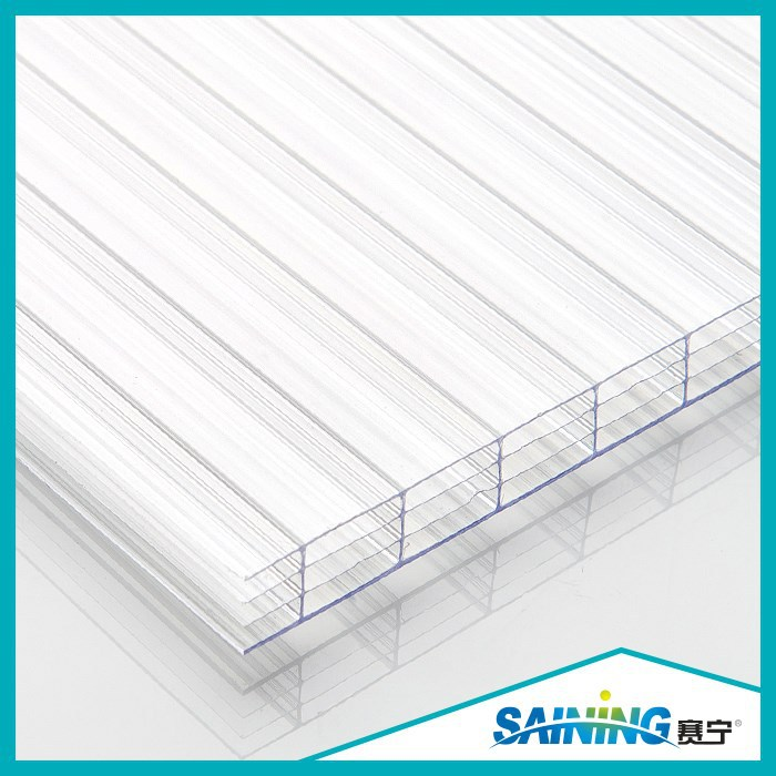 transuclent multi-cell polycarbonate bus roof sheet