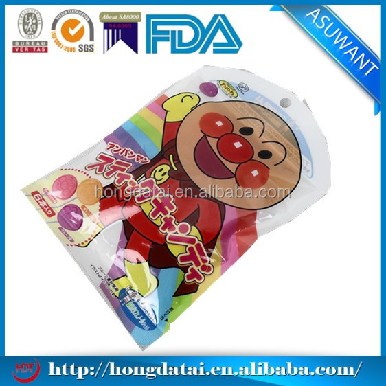irregular shaped aluminum foil bag for toy packaging