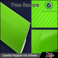 Vinyl Material and Yes Waterproof carbon fiber skin sticker for car body