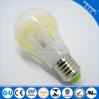 High quality A60 10W MCOB led bulb E26 E27 led indoor light CE RoHS FCC approval