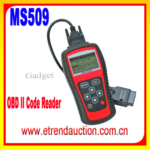 2016 Hot Selling OBD II Scanners OBDII Scan Tool Code Reader MS509 OBD Scanner Auto 509 MS 509 MS509 OBDII Scanner Tool