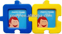 PHOTO FRAME JIGSAW SHAPE PUZZLE SHAPE