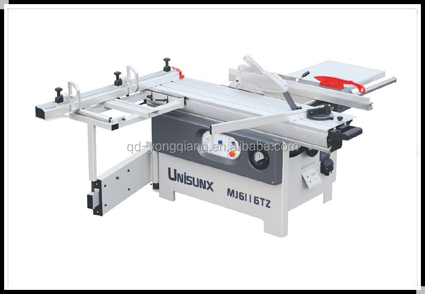 MJ6116TZ panel saw woodcutting machinery /1600mm slidng table