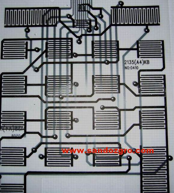 PCB circuits Conductive carbon paste