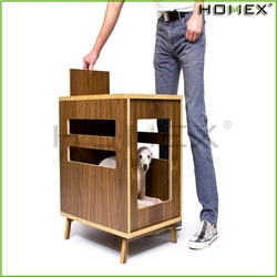 Dog Crate Modern Pet Furniture Dog House Side /Homex_BSCI
