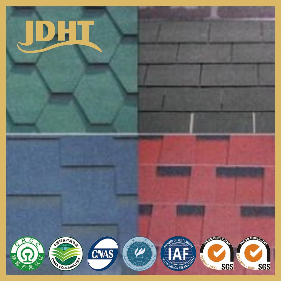Lightweight Asphalt shingle bitumen shingle shingle roofing