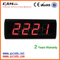High brightness red indoor small led counter