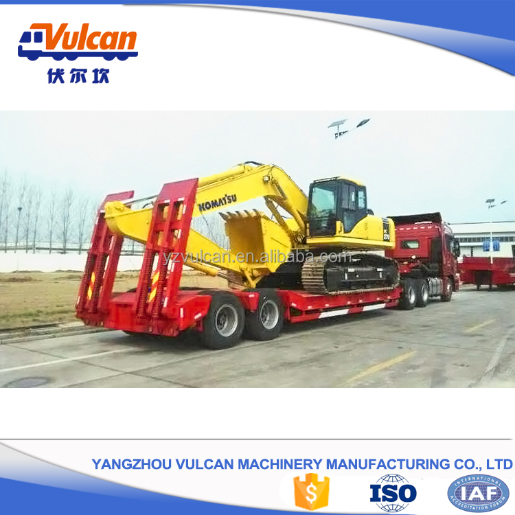 Over-weight 40 tons Skeleton Truck Semi Trailer with High Quality 17.5 Semi Trailer Wheels (Customized)