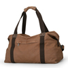 Factory Price Large Capacity Vintage Travel Weekender Leather Mens Canvas Duffle Bag