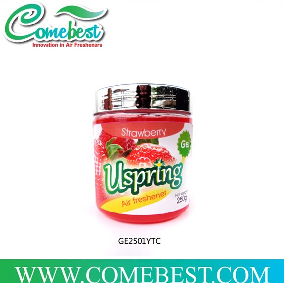 Uspring plastic bottle cherry fragrance air freshener