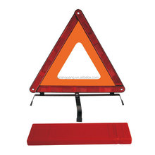 New style hotsell cross bottom plastic warning triangle