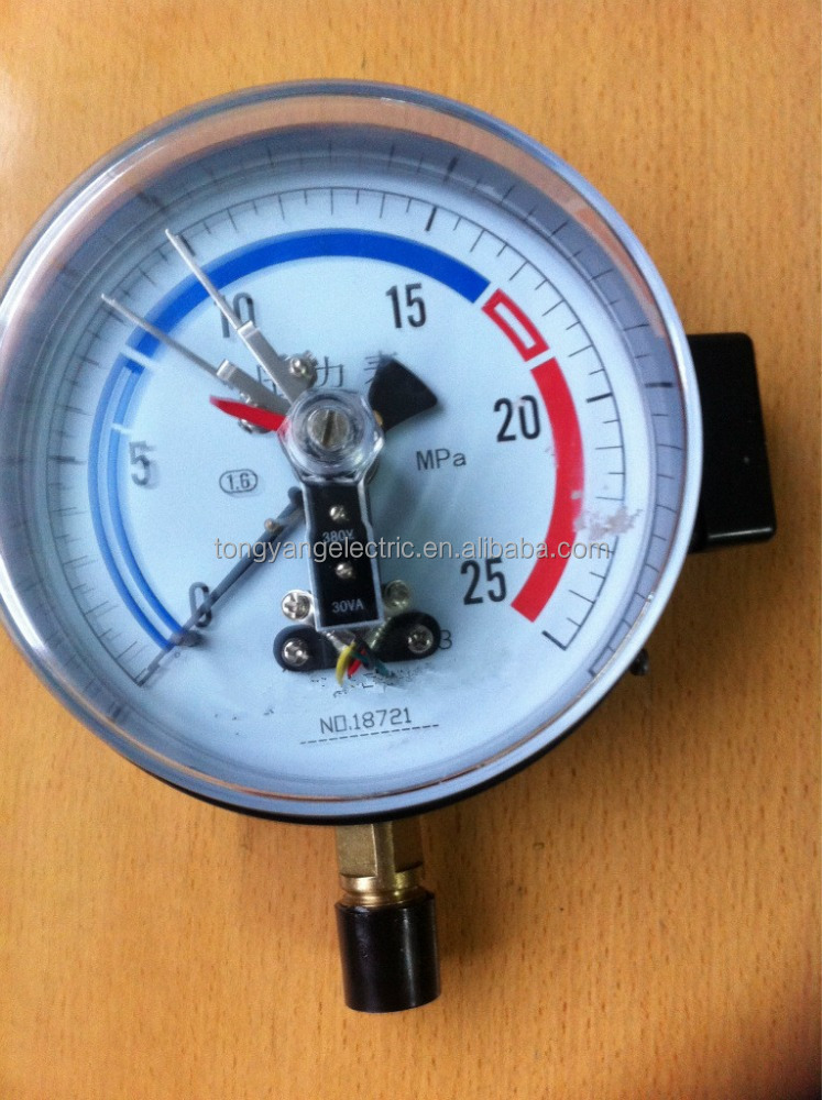 YXC-150 Electro Connecting Pressure Gauge
