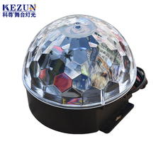 3*3W rgb led stage crystal magic ball effect light for shows or theme park decoration