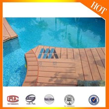 Recycled Ecological WPC Board Waterproof Exterior Hollow WPC Decking