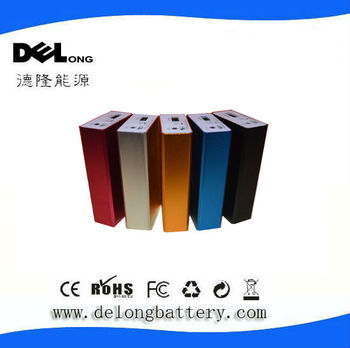 4400mah rechargeable portable power bank for mobile phone
