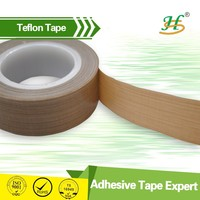High temperature resiestant teflon adhesive tape for heat sealling packing