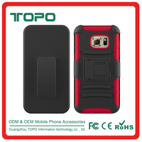 [TOPO]Hot Selling Hybrid Armor PC silicon Cell Mobile Phone Case Cover for Samsung galaxy S7 G9300