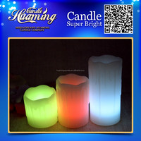 tears flickering flame led wax candles