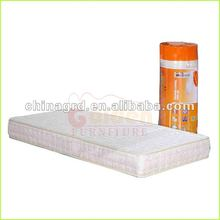 modern memory foam single roll up mattress PVC bag packing