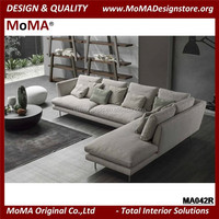 MA042R Modern Living Room Fabric Sofa Set Design
