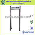 6 Detecting Zone Security Walkthrough Metal Detector For Person