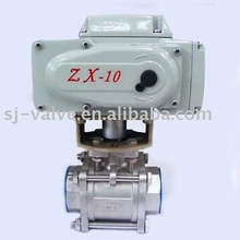 3pc valve with actuator