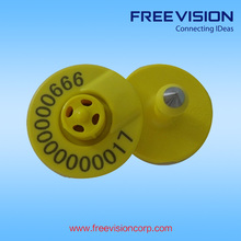 Freevision laser ear tag for cattle