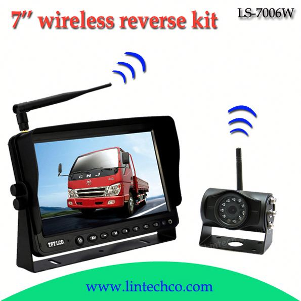 China night vision wireless RS232 serial port camera for car system LS-7006W