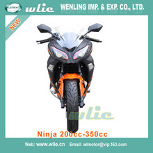 Popular in america and europe petrol motorcycle manufacturers off-road vehicle Racing Motorcycle Ninja (200cc, 250cc, 350cc)