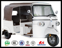 2016 hot sale 200cc india bajaj auto rickshaw passenger tricycle adult tuk tuk for sale