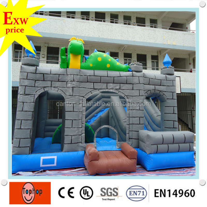 new inflatable combo inflatable house combo inflatable bouncer with slide combo