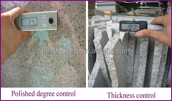 good quality irregular granite decoration stone