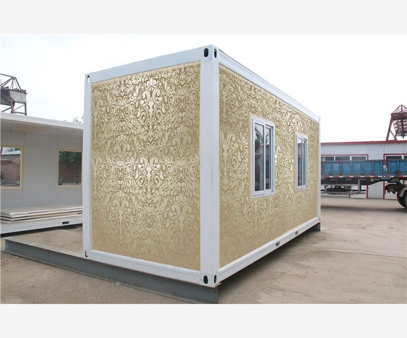 lowcost prefab modular china campsite container house for Pakistan