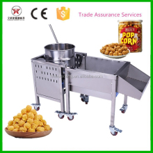 Ball shape Caramel popcorn making machine