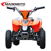 CHeap price best selling 4x4 kids gas powered atv 50cc