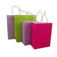 oem production paper shopping bag for candy packaging