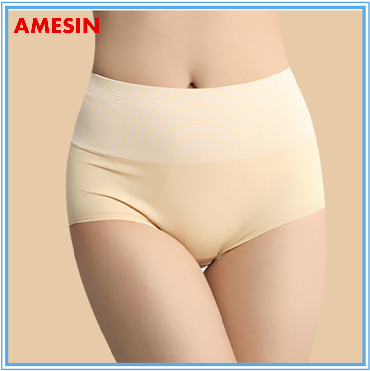 Quality Girls Wearing Silk Panties Brown Color Women Sexy Panty Mature Classic Underwear