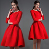 Ladies casual dresses pictures dresses for women elegant red dresses