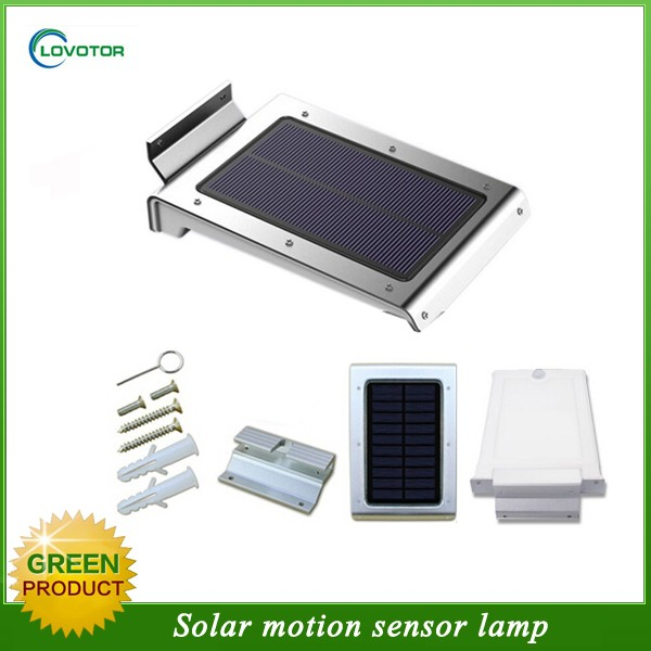 Wall mounted mini sensor night light solar powered led motion sensor light
