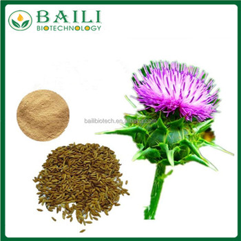 Milk Thistle extract powder Silymarin pharmaceutical Industries