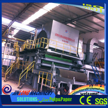 South-Korean Technology Good quality toilet tissue paper making machine from Shandong JINLONG foctory