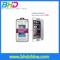 Factory price 9h hardness for laptop anti-spy tempered glass screen protector packaging